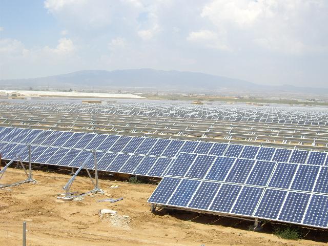 Plantas de generación de energías renovables